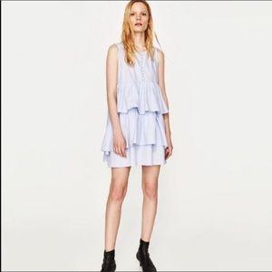 NEW Zara Layered Dress Medium